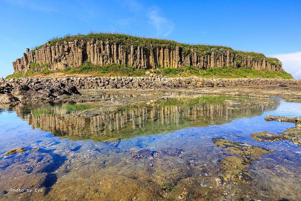 下午前往南海:桶盘屿登岛 七美登岛  大菓叶柱状玄武岩/池西岩瀑/牛心